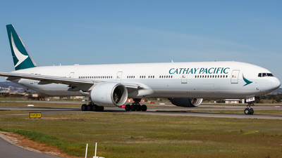 B-KQB - Boeing 777-367ER - Cathay Pacific Airways