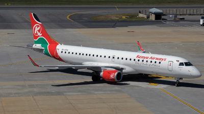 5Y-FFH - Embraer 190-100IGW - Kenya Airways