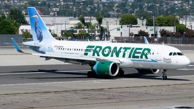 N334FR - Airbus A320-251N - Frontier Airlines