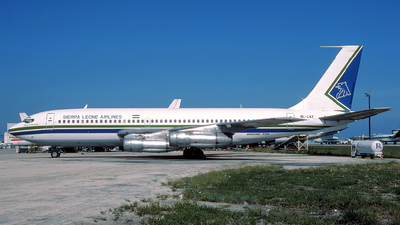 9L-LAZ - Boeing 720-030B - Sierra Leone Airlines