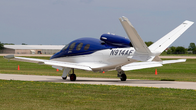 N914AF - Cirrus Vision SF50 - Cirrus Design Corporation