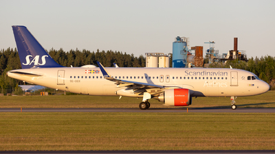 A picture of SEDOX - Airbus A320251N - SAS - © Rickard Andersson