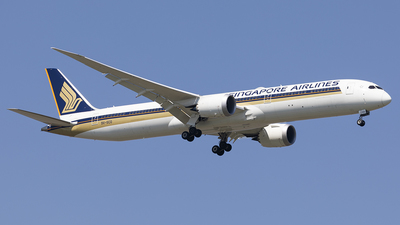 9V-SCO - Boeing 787-10 Dreamliner - Singapore Airlines