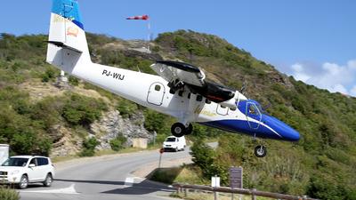PJ-WIJ - De Havilland Canada DHC-6-300 Twin Otter - Winair - Windward Islands Airways