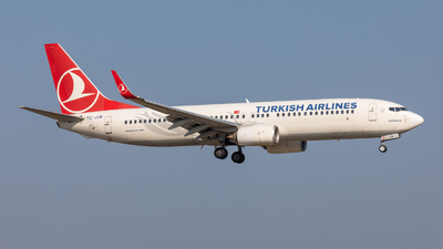 A picture of TCJVB - Boeing 7378F2 - Turkish Airlines - © vwmatze