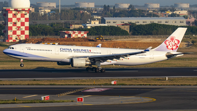 A picture of B18353 - Airbus A330302 - China Airlines - © Chao Aviation