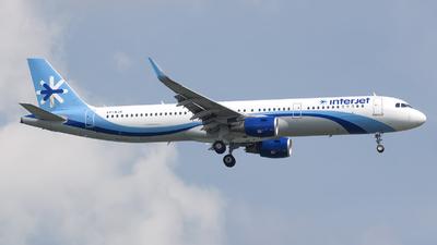 VP-BJK - Airbus A321-211 - Interjet