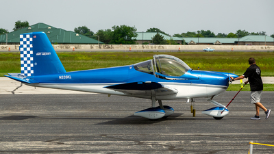 N328KL - Vans RV-12 - Private