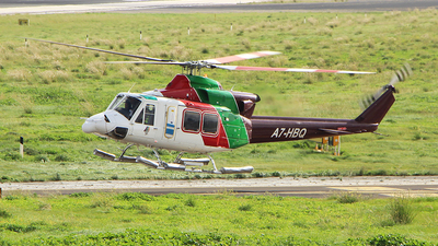 A7-HBQ - Bell 412EP - Gulf Helicopters
