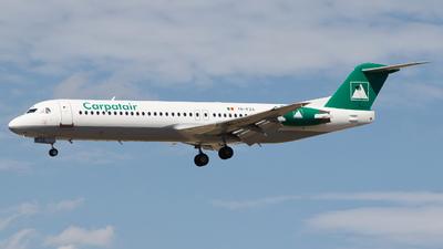 YR-FZA - Fokker 100 - Carpatair