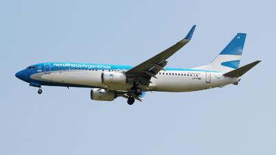 LV-FQB - Boeing 737-86J - Aerolíneas Argentinas