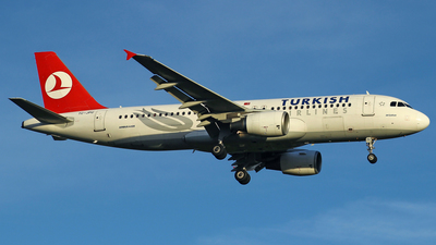 TC-JPU - Airbus A320-214 - Turkish Airlines