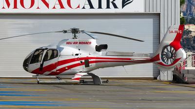 A picture of 3AMFC - Eurocopter EC130 B4 - [3768] - © Marcello Galzignato