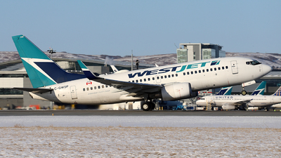 A picture of CGWSP - Boeing 7377CT - WestJet - © GN