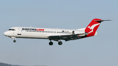 VH-NHV - Fokker 100 - QantasLink (Network Aviation)