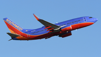 A picture of N238WN - Boeing 7377H4 - Southwest Airlines - © DJ Reed - OPShots Photo Team