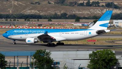 LV-FVI - Airbus A330-202 - Aerolíneas Argentinas