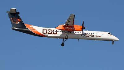 A picture of N440QX - De Havilland Canada Dash 8400 - Alaska Airlines - © Willy Dahmen