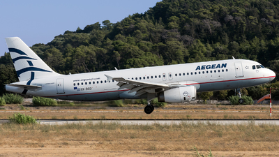 SX-DGD - Airbus A320-232 - Aegean Airlines