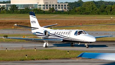 A picture of N17FA - Cessna 560 Citation Encore - [5600655] - © A7-BAJ