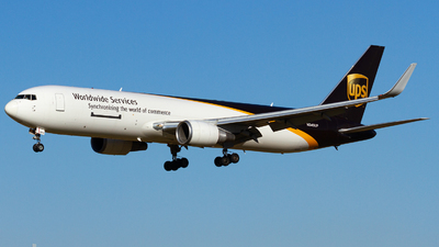 A picture of N349UP - Boeing 76734AF(ER) - UPS Airlines - © Conor Clancy
