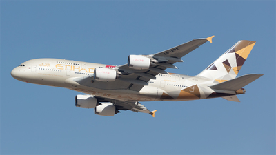 A6-APE - Airbus A380-861 - Etihad Airways