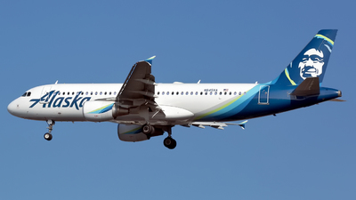 A picture of N845VA - Airbus A320214 - Alaska Airlines - © Chris Pitchacaren
