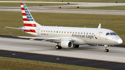 A picture of N237NN - Embraer E175LR - American Airlines - © Andrew Hutnyan