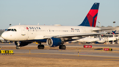 A picture of N323NB - Airbus A319114 - Delta Air Lines - © Twin Cities Spotter