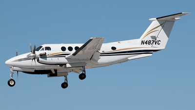 N487VC - Beechcraft B200 Super King Air - Private
