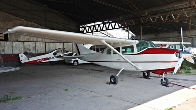 LV-INT - Cessna 210B Centurion - Private