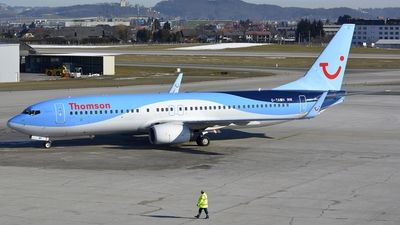 G-TAWH - Boeing 737-8K5 - Thomson Airways