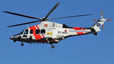 EC-NGO - Agusta-Westland AW-139 - Spain - Sociedad de Salvamento y Seguridad Marítima (SASEMAR)
