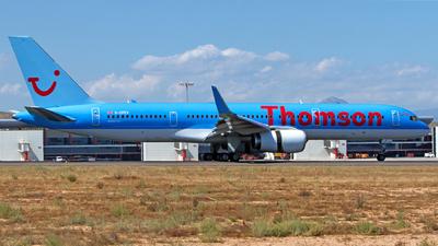 G-CPEV - Boeing 757-236 - Thomson Airways