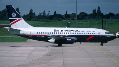 G-BKYA - Boeing 737-236(Adv) - British Airways Birmingham