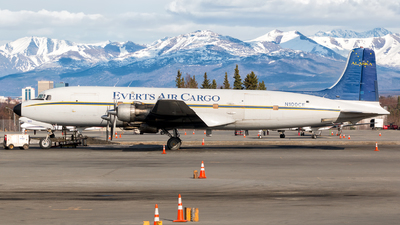 N100CE - Douglas DC-6A Liftmaster - Everts Air Cargo