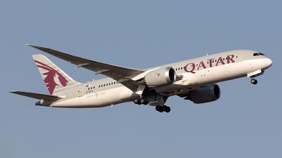 A picture of A7BCZ - Boeing 7878 Dreamliner - Qatar Airways - © Hanjo Schrenk