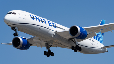 A picture of N29984 - Boeing 7879 Dreamliner - United Airlines - © Haocheng Fang