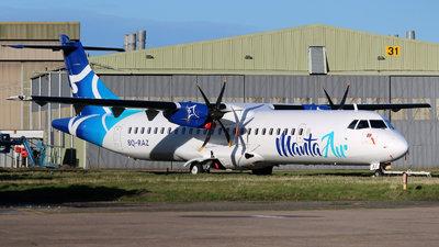 A picture of 8QRAZ - ATR 72600 - Manta Air - © David Cook