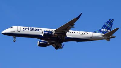 N283JB - Embraer 190-100IGW - jetBlue Airways