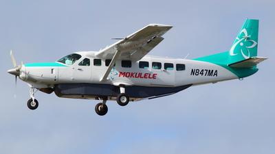 N847MA - Cessna 208B Grand Caravan EX - Mokulele Airlines