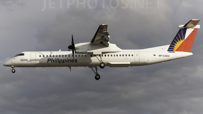 A picture of RPC3033 - De Havilland Canada Dash 8400 - Philippine Airlines - © Roman Angelo T. Waquiz
