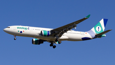 A picture of ECMTY - Airbus A330223 - Evelop Airlines - © Alejandro Gutierrez Martin