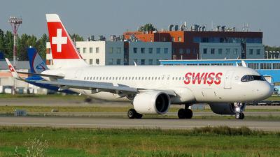 A picture of HBJDA - Airbus A320271N - Swiss - © Timofey Panteleev
