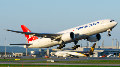 A picture of TCLJT - Boeing 777F - Turkish Airlines - © Laszlo Fekete
