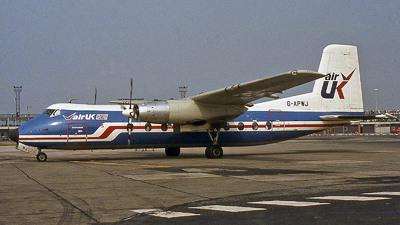 G-APWJ - Handley Page Dart Herald 201 - Air UK