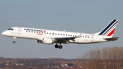 F-HBLN - Embraer 190-100STD - Air France HOP