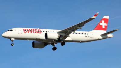 HB-JCI - Bombardier CSeries CS300 - Swiss