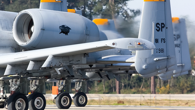 81-0981 - Fairchild A-10C Thunderbolt II - United States - US Air Force (USAF)