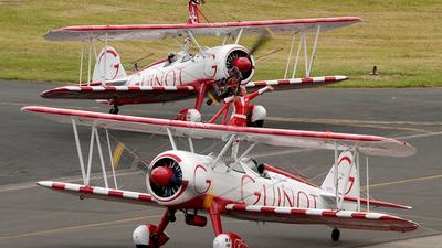 N707TJ - Boeing A75N1 Stearman - Team Guinot